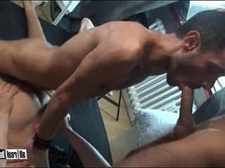 Bareback fucked by two twinks | bareback  bottom  fucking  threesome  twinks  two movie