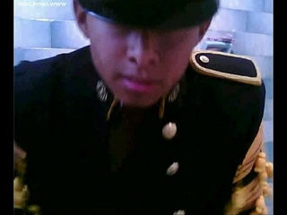 Mexicano chacal militar presume el uniforme Mexican soldier naked and uniform   mexican male  naked  uniform