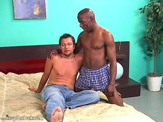 Black guy licking and fingering a white dude | black tv  dudes  fucking  licking  white