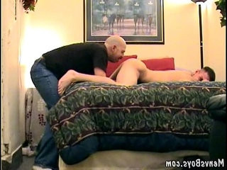 Nasty old fart nails a gorgeous young stallion | gorgeous   muscular   nasty   old   young man