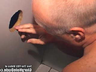 Glory Hole Dude Sucks Random Cocks! | cocks   dudes   gloryhole   hole xxx   sucking