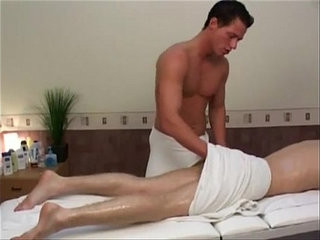 Blonde gets massage before fucking | bareback   before   blonde   fucking   getting   massage