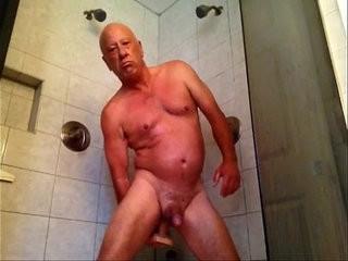 Enjoying my shower   enjoying  shaved  shower