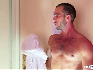 A sexy Sport guy get wanked under shower! | cumshots   sexy films   shower   wanking