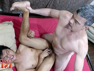 White old gay perv gets his fuck holes plugged by twink dicks | dicks   fucking   gays tube   getting   massage   old