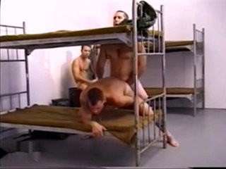sergeant gives his soldiers a lesson | gives  spanking