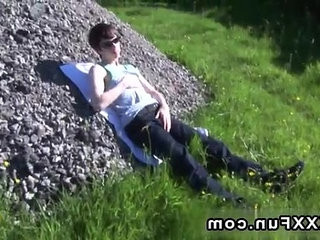 Gay video Matt gets naked and milks his weenie in assorted positions! | gays tube  getting  naked
