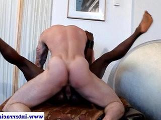 Ebony jock spills load after white cock anal | anal top  cocks  cumshots  ebony gay  jocks  white