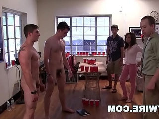 GAYWIRE College Frat Pledges Get Hazed and Humiliated on Campus | college   frat vids