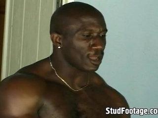 Ebony thugs in hot anal threesome | anal top  black tv  ebony gay  gays tube  threesome