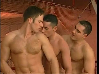 Gymnastic loving muscled studs threesome tight holes filling | loving   muscular   studs   threesome   tight movie